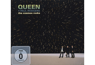 Queen, Paul Rodgers - THE COSMOS ROCKS (DELUXE VERSION) - (CD + DVD Video)