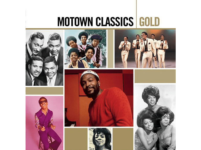 VARIOUS - Motown Gold [CD]