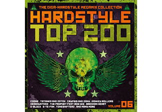 VARIOUS - Hardstyle Top 200 Vol. 6 - (CD)