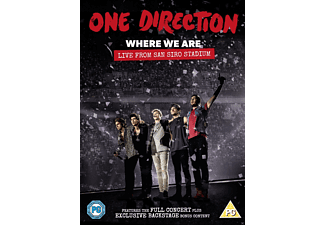 One Direction - Where We Are: Live From San Siro Stadium - (DVD)