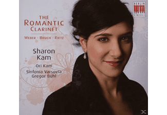 Sharon Kam, Siva, Ori Kam, G. Bühl, Kam,Sharon/Kam,Ori/Siva/Bühl,G. - The Romantic Clarinet - (CD)