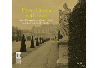 VARIOUS - From Vienna With Love-Piano Concertos - (CD)