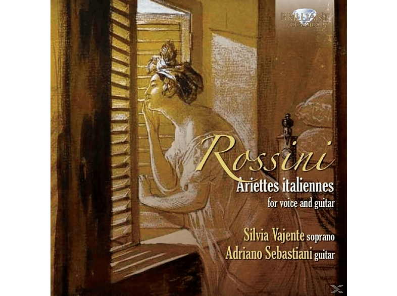 Silvia Vajente, Adriano Sebastiani - Ariettes Italiannes For Voice And Guitar [CD]