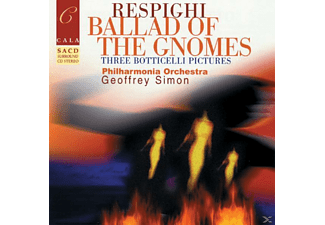 Simon & Pho London, Simon/Philharmonia Orchestra - Respighi:ballad/sa-CD - (CD)