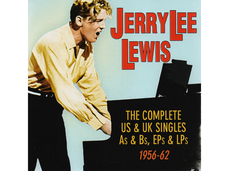 Jerry Lee Lewis - The Complete Us & Uk Singles As&Bs, Eps&Lps 1956-62 [CD]