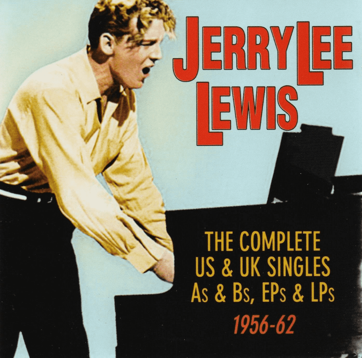 The Complete Us & Uk Singles As&Bs, Eps&Lps 1956-62 Jerry Lee Lewis auf CD