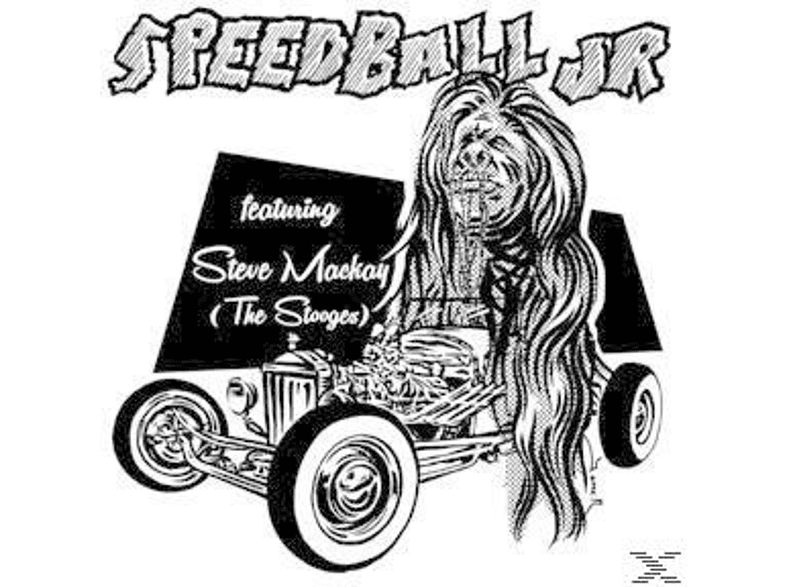 Speedball Jr - Speedball Jr Feat. Steve Mackay (The Stooges) [Vinyl]