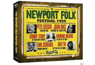 VARIOUS - The Newport Folk Festival 1959 - (CD)