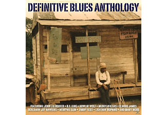VARIOUS - Definitive Blues Anthology - (CD)