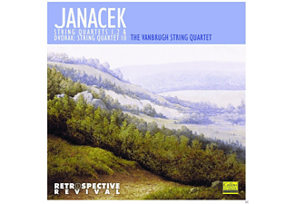 Vanbrugh String Quartet - Janacek: String Quartets 1 & 2 - Dvorak: String Quartets 10 - (CD)