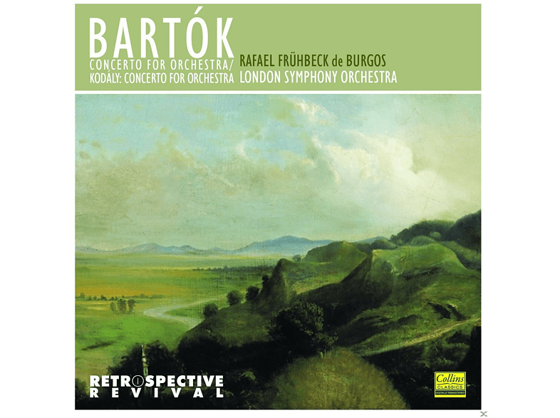 London Symphony Orchestra - Bartók: Concerto For Orchestra - Kodály: Concerto For Orchestra [CD]