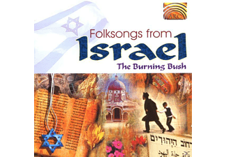 The Burning Bush - Folksongs From Israel - (CD)