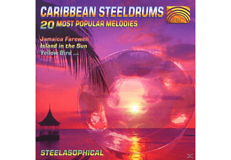 Steelasophical - Caribbean Steeldrums, 20 Most P - (CD)