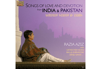Razia Aziz - India & Pakistan, Songs Of Love&Dev - (CD)