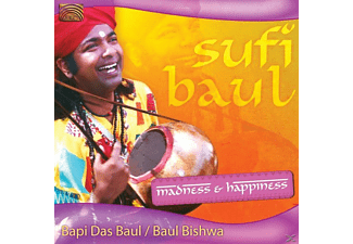 Bapi Das Baul - Sufi Baul-Madness & Happiness - (CD)