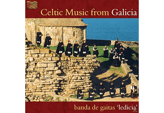 Banda De Gaitas Ledicia - Celtic Music From Galicia [CD]