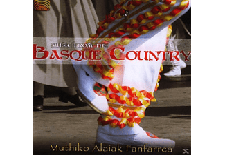 Muthiko Alaiak Fanfarrea - Music From The Basque Country - (CD)