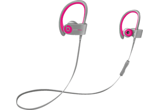 BEATS Powerbeats 2, In-ear Kopfhörer, Bluetooth, Pink/grau