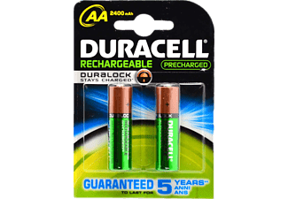 DURACELL Rechargeable 2400mAh AA - 2 τμχ - (81418235)