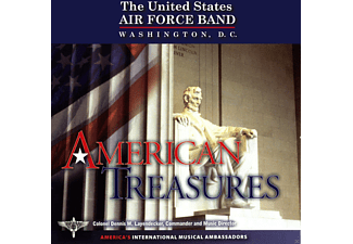 United States Air Force Band - American Treasures - (CD)