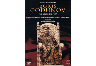 VARIOUS, Chorus And Orchestra Of The Bolshoi Theatre - Boris Godunov (Ga) [DVD]