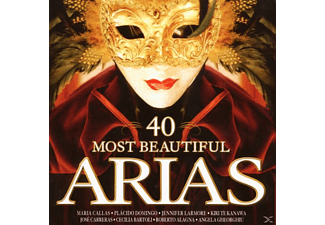 VARIOUS - 40 Most Beautiful Arias - (CD)