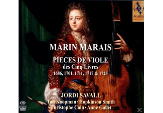 Koopman, Smith, Savall, Coin, Gallet - Pieces De Viole Des Cinq Livres - (CD)