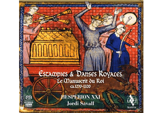 Hesperion Xxi - ESTAMPIES & DANSES ROYALES - (CD)