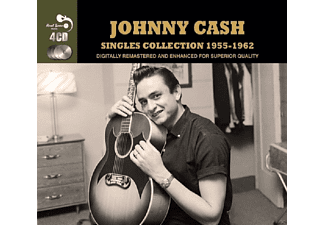 Johnny Cash - Singles Collection 1955-62 - (CD)