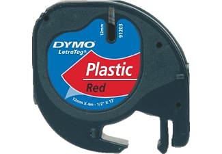 DYMO LetraTAG Plastic tape Rouge (S0721630)