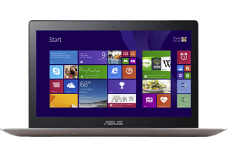 ASUS UX303LA-R4342H, Notebook mit 13.3 Zoll Display, Core i7 Prozessor, 8 GB RAM, 256 GB SSD, Intel HD Graphics, Smoky Brown