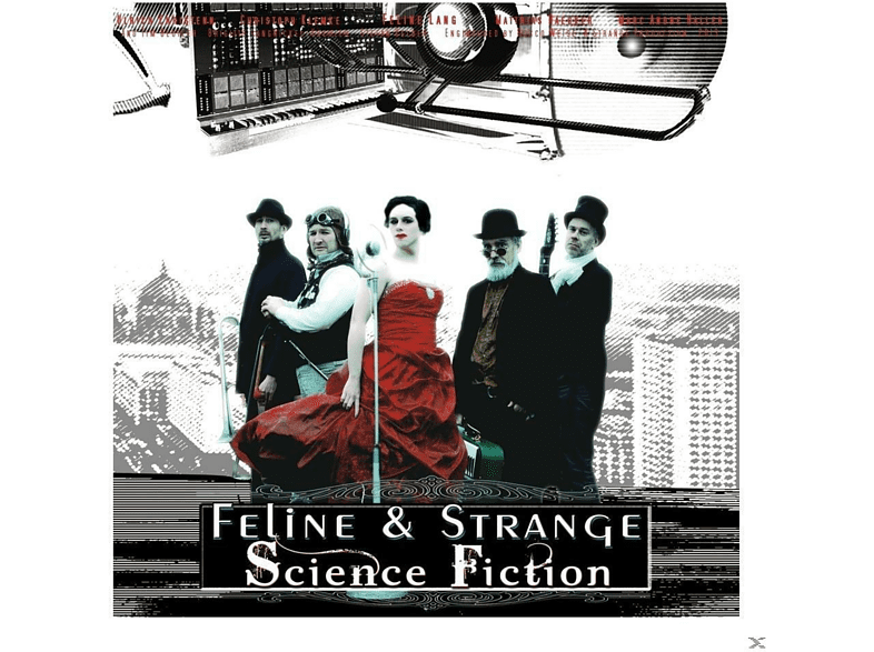 Feline & Strange - Science Fiction (A Space Opera) [CD]
