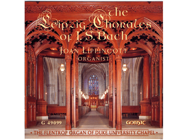 Joan Lippincott - The Leipzig Chorales Of J.S.Bach [CD]