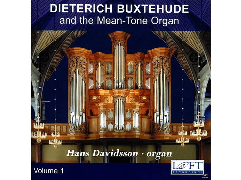 Davidsson Hans - Buxtehude Organ Works Vol.1 [CD]