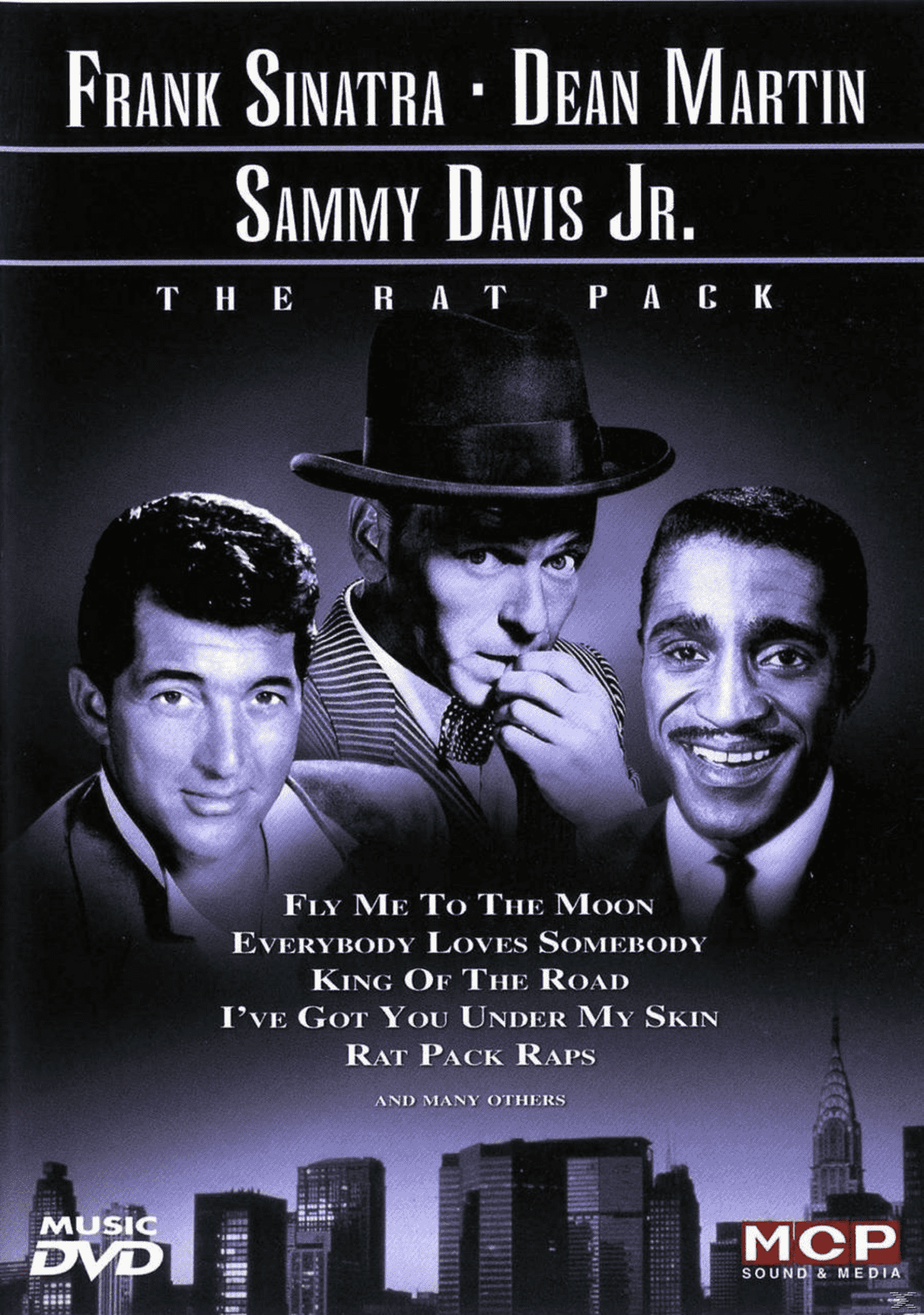 THE RAT PACK Frank Sinatra, Dean Martin, Sammy Davis Jr. auf DVD