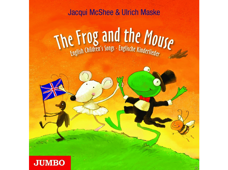 The Frog And The Mouse.English Children's Songs - (CD)