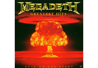 Megadeth Greatest Hits:Back To The Start Heavy Metal CD