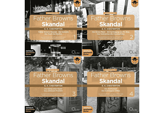 Father Browns Skandal-Die Bo - 8 CD - Hörbuch