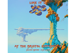 Yes - Like It Is - Yes At The Bristol Hippodrome - (CD + DVD Video)