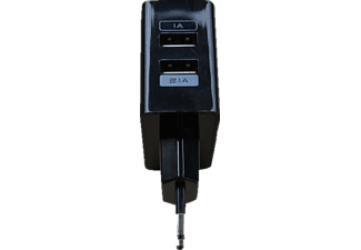 OSIO Travel Charger Adapter 3.1A OTU-385B Black