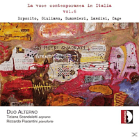 DUO ALTERNO: T. SCANDALETTI: SOPRAN - La Voce Contemporanea In Italia, Vol.6 [CD]
