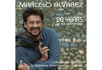 Marcelo Álvarez, St. Petersburg State Symphony Orchestra - 20 Years On The Opera Stage - (CD)