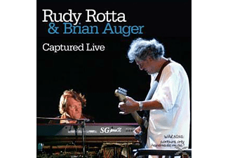 Rotta, Rudy / Auger, Brian - Captured Live - (CD)