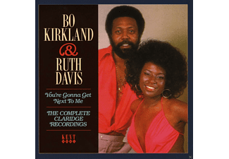 Bo Kirkland, Ruth Davis - The Complete Claridge Recordings - (CD)