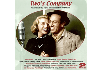VARIOUS - Two's Company (Vocal Duets By Stars Of The 50's) [CD]