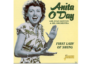Anita O'Day - FIRST LADY OF SWING/WITH STAN KENTON&HIS ORCHESTRA - (CD)