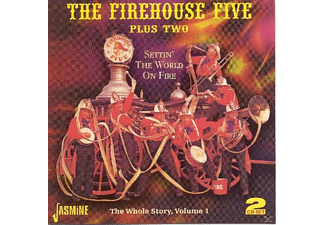 Firehouse Five Plus Two, The Firehouse Five+two - Settin' The World On Fire-The Whole Story Vol.1 - (CD)