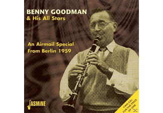 Benny & His All Stars Goodman - An Airmail Special From Berlin  1959 - (CD)