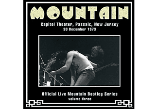 Mountain - LIVE AT THE CAPITOL THEATER,NEW JERSEY 1973 - (CD)