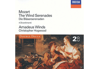 Amadeus Winds - Bläserserenaden/Divertimenti - (CD)